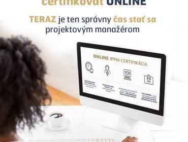 Online certifikácie podľa štandardu IPMA® na Slovensku